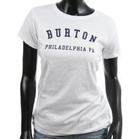 White Burton Philadelphia Tee Womens