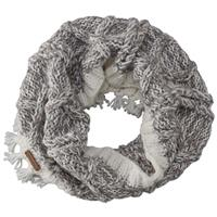 Screamer Fringy Infinity Scarf Womens