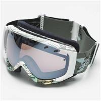 White Choppers Frame with Ignitor Mirror Lens Smith Phenom Goggle