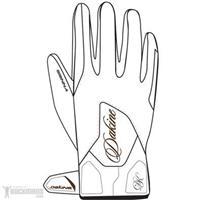 White Dakine Sienna Gloves Womens