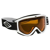 White Frame with Gold Lite Lens Smith Electra Goggle Womens