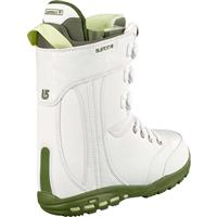 White / Green Burton Sapphire Snowboard Boots Womens