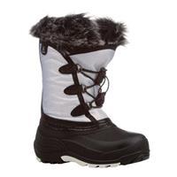 White Kamik Powdery Boots Youth
