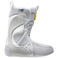 White / Light Grey Burton Mint Snowboard Boots – Womens