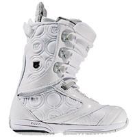 White / Light Grey Burton Sapphire Snowboard Boots – Womens