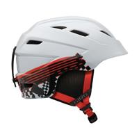White Logo Streak Giro Nine.10 Jr Helmet Youth