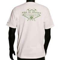 White Marmot King of Prussia Ice Axe Tee Mens