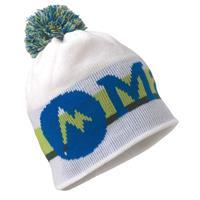 White Marmot Retro Pom Hat