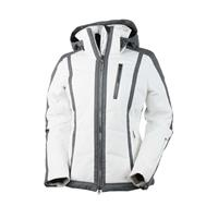 White Obermeyer Cortina Jacket Womens