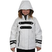 White Obermeyer Mekayla Jacket Girls