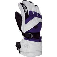 White / Purple Swany X Over Jr Gloves Youth