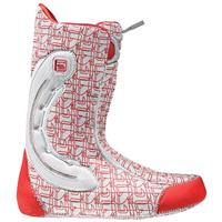 White / Red Burton SL X Snowboard Boots – Mens
