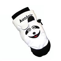White Robbie Raccoon Auclair Petting Zoo Mittens Youth