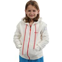 White Roxy Tasman Girl Hoodie Girls