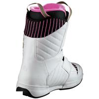 White Salomon Dawn Snowboard Boot Womens