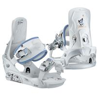 White Salomon Grace Snowboard Binding Youth