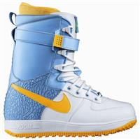White / Sunbeam Scuba Hot Lime Nike Zoom Force 1 Snowboard Boot Mens