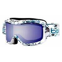 White / Turquoise Japan Frame with Aurora Lens Bolle Monarch Goggle Womens