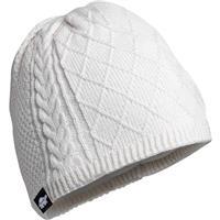 White Turtle Fur Merino Wool Yeti Hat Womens