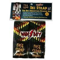 Rasta Fast Strap Wide Boy Ski Strap (2 per pack)