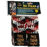 US Flag Fast Strap Wide Boy Ski Strap (2 per pack)