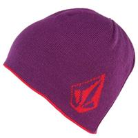 Winter Orchid Volcom Coop Reversible Beanie Womens