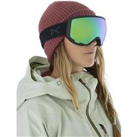 Anon WM1 Goggle + Bonus Lens - Women's - Smoke Frame with Sonar Green & Sonar Infrared Lenses (185611-098)
