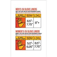 ActionHeat 5V Heated Glove Liners - Women's - Black