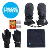Womens Mittens with Neck up Bundle
