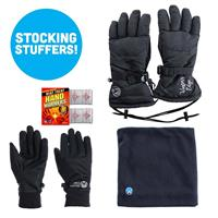 Womens Gloves with Neck up Bundle