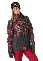 Roxy Jetty Block Jacket - Women's - Four Leaf Clover / Zebratree