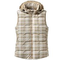 Wooly Plaid: Raw Linen Patagonia Down With It Vest Womens