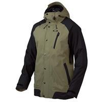 Worn Olive Oakley Apache Biozone Jacket Mens