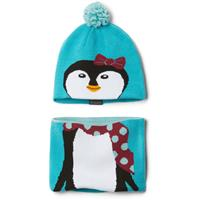 Geyser Penguin Columbia Infant Snow More Hat and Gaiter Set Youth