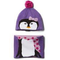 Grape Gum Penguin Columbia Infant Snow More Hat and Gaiter Set Youth