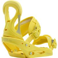 Yellow Burton Stiletto Snowboard Bindings Womens