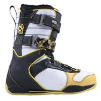 Yellow Ride Strapper Keeper Snowboard Boots Mens