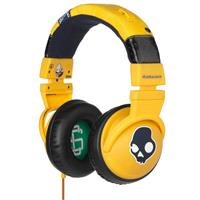 Yellow Skullcandy Hesh Headphones