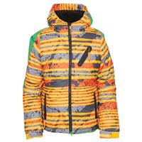 Yellow Stripe 686 Trail Insulated Jacket Boys