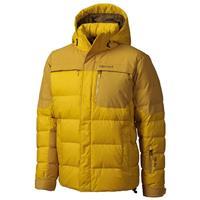 Yellow Vapor / Green Mustard Marmot Shadow Jacket Mens