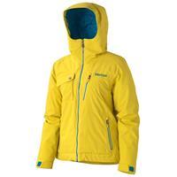Yellow Vapor Marmot Free Skier Jacket Womens