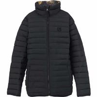 True Black / Mark Camo Burton Flex Puffy Jacket Youth