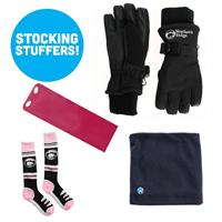 Girls Sock Neck up Glove and Sled Bundle!