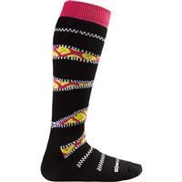 Zipper Burton Party Socks Womens