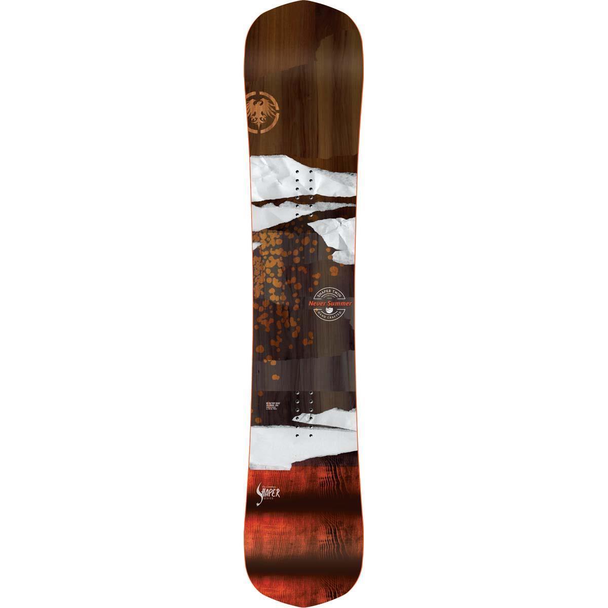 Never Summer Shaper Twin Snowboard Men S 2020 Model Buckmans Com
