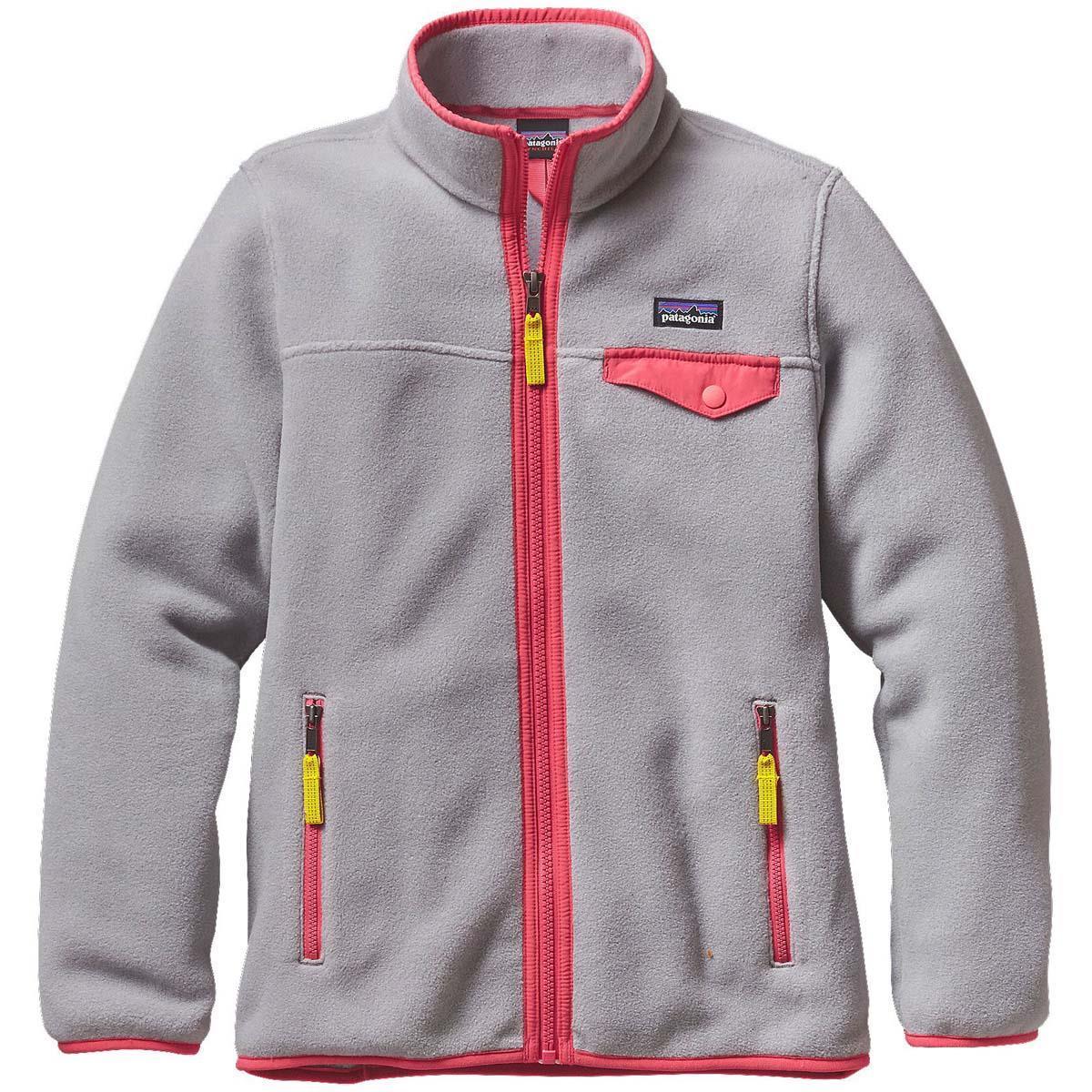 f06ef9b0489 Patagonia Lightweight Synchilla Snap T Jacket Girls. Loading zoom