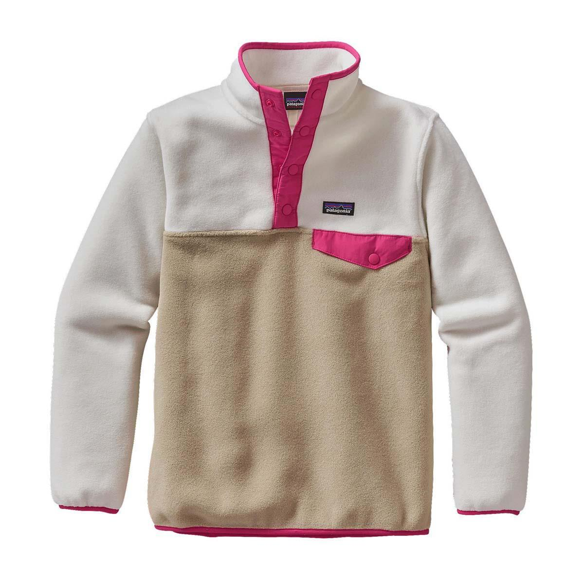 Patagonia Lightweight Synchilla Snap-T Pullover - Girl s  b41552486