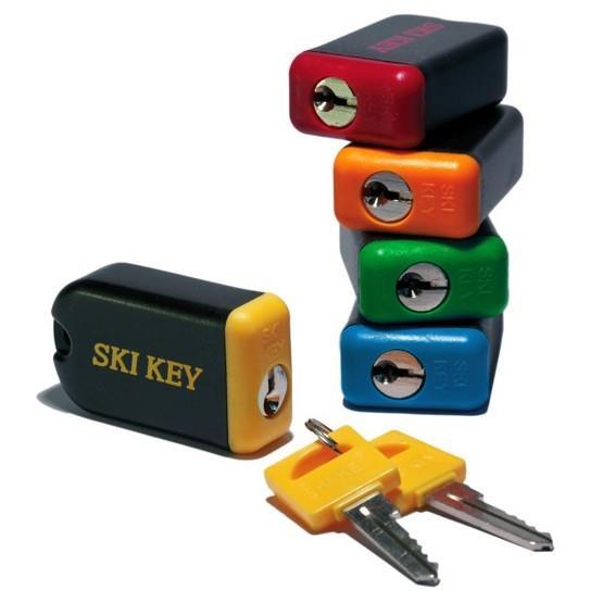 ski key lock for skis and snowboards. Black Bedroom Furniture Sets. Home Design Ideas