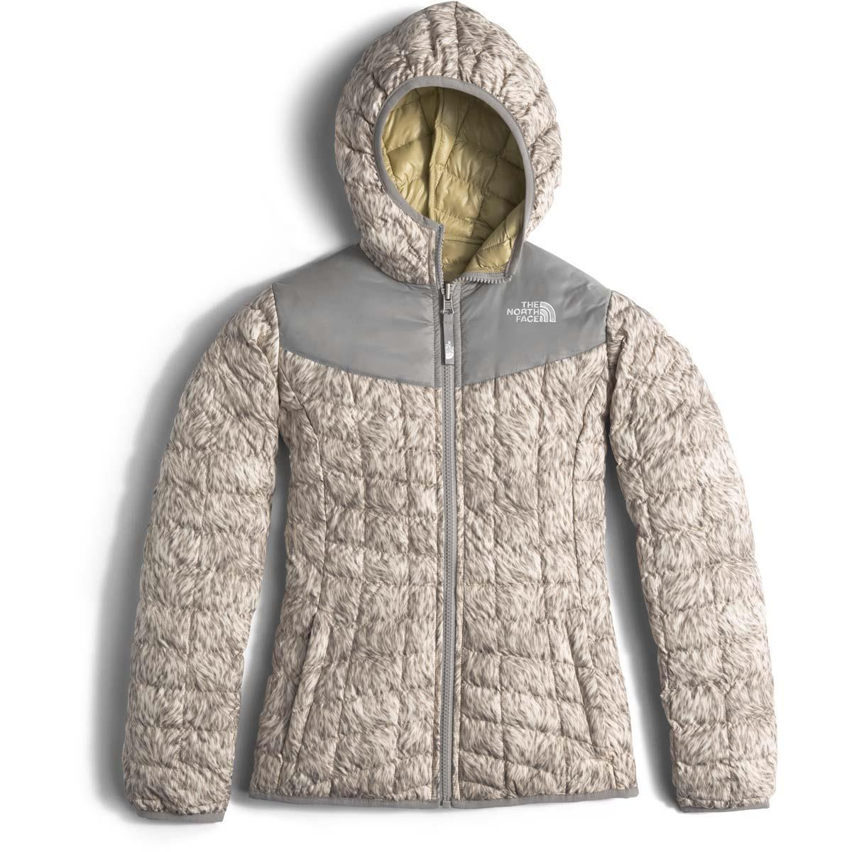 7ddaa3bf84d4 The North Face Reversible Thermoball Hoodie Girls. Loading zoom