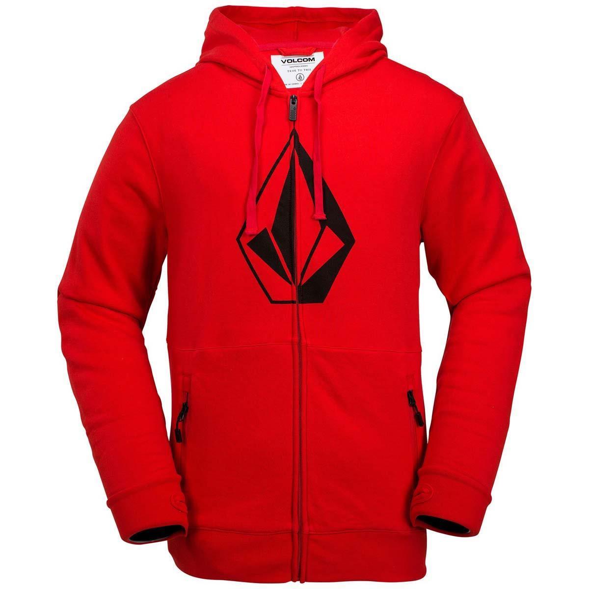 Volcom Mens JLA Stone Zip Fleece